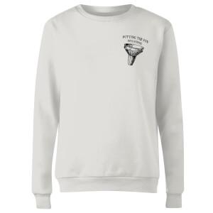 Putting Fun Into Funnel Women's Sweatshirt - White