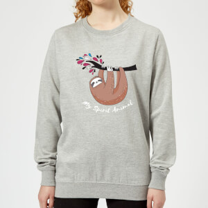 My Spirit Animal Women's Sweatshirt - Grey
