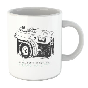 With A Camera In My Hand, I Know No Fear Mug