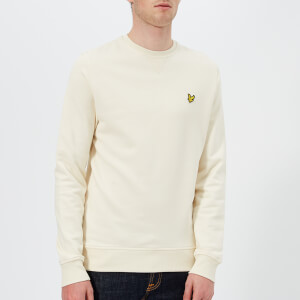 Lyle & Scott Men's Crew Neck Sweatshirt - Seashell White