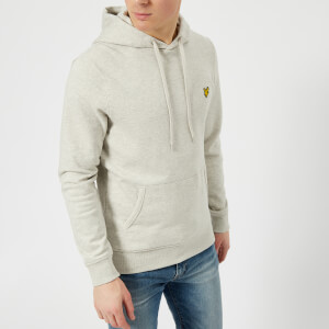 Lyle & Scott Men's Pullover Hoody - Light Grey Marl