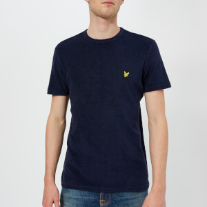 Lyle & Scott Men's Towelling T-Shirt - Navy