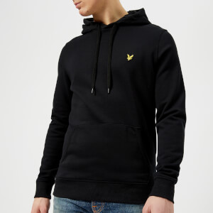 Lyle & Scott Men's Pullover Hoody - True Black