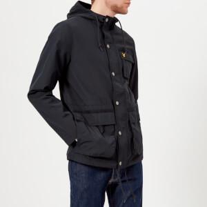 Lyle & Scott Men's Hooded Jacket - Dark Navy
