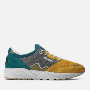 Karhu Men's Aria Trainers - Blue Coral/Golden Road