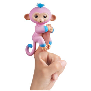 Fingerlings Baby Monkey - Two Tone - Candi (Pink and Blue)