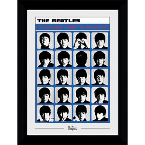 The Beatles Hard Days Night Collector's 50 x 70cm Framed Photograph