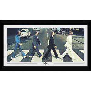The Beatles Abbey Road Collector's 50 x 100cm Framed Photograph