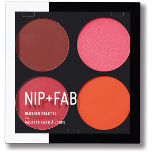 NIP + FAB Make Up Blusher Palette - Blushed Brights 02 15.2 g