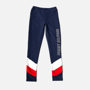 Tommy Hilfiger Girls' Colourblock Leggings - Black Iris
