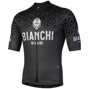 Bianchi Conca Short Sleeve Jersey - Black