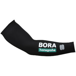 Sportful Bora Hansgrohe Pro Team Arm Warmers - Black