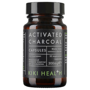 KIKI Health Activated Charcoal – 50 Vegicaps