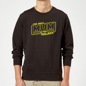 Best Mum In The Galaxy Sweatshirt - Black