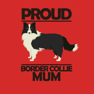 Proud BorderCollie Mum Women's T-Shirt - Red
