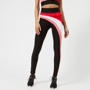 NO KA'OI Women's Nalu Kela Leggings - Black/Red