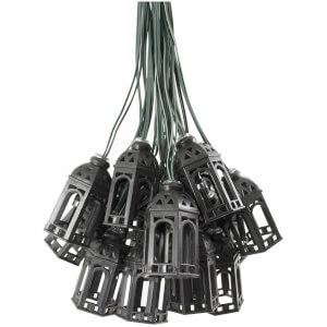 Elan Solar Morrocan Lantern Fairy Lights