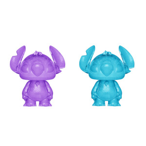 Disney Lilo and Stitch Stitch Purple and Blue Hikari XS Vinyl Figure 2 Pack