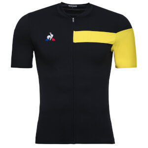 Le Coq Sportif Ultra Light Jersey - Black/Yellow