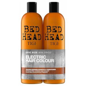 TIGI Bed Head Colour Goddess Oil Infused Shampoo and Conditioner for Coloured Hair 2 x 750ml (Worth $67)
