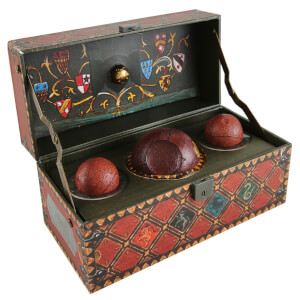 Harry Potter Sammleredition Quidditch-Set