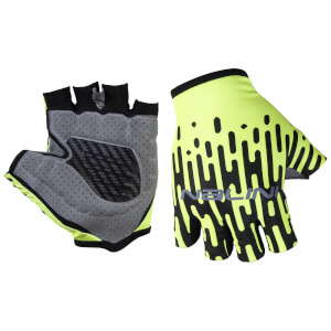 Nalini Vetta Mitts - Black/Fluro Yellow