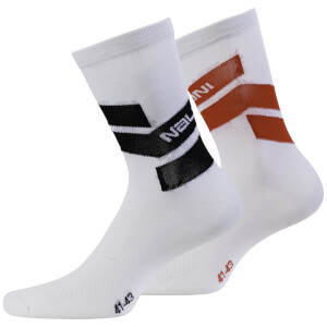 Nalini Folgore Socks - White