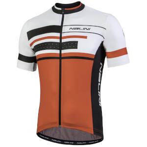 Nalini Vittoria Short Sleeve Jersey - White/Red