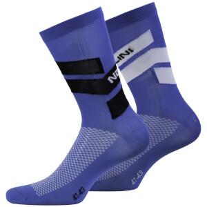 Nalini Folgore Socks - Blue