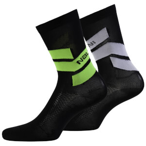 Nalini Folgore Socks - Black