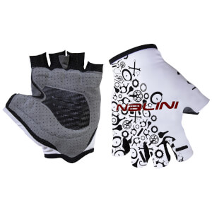 Nalini Vetta Mitts - White/Black
