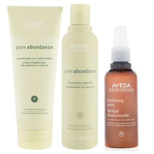Aveda Pure Ambunance Shampoo, Conditioner and Thickening Tonic Trio (Worth £62.50)