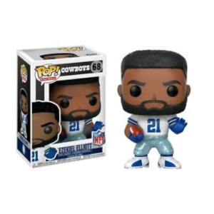 Figurine Pop! NFL Ezekiel Elliott Colour Rush EXC