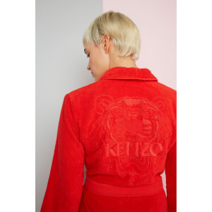 KENZO Iconic Bathrobe - Red
