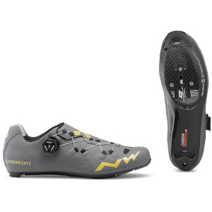 Northwave Extreme GT Road Shoes - Anthracite/Gold