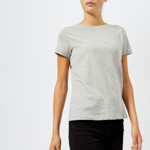 Tommy Hilfiger Women's Abby Crew Neck T-Shirt - Grey
