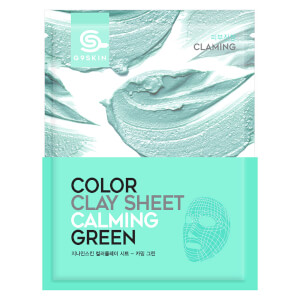 G9SKIN Color Clay Sheet - Calming Green 20g
