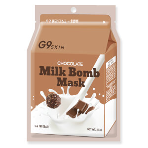 G9SKIN Milk Bomb Mask – Chocolate 21 ml