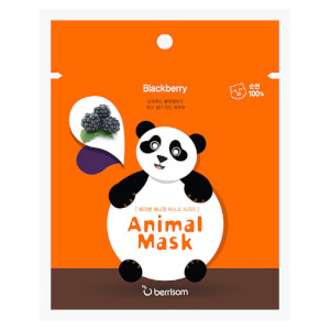 Berrisom Animal Mask Series -kasvonaamio, panda 25ml