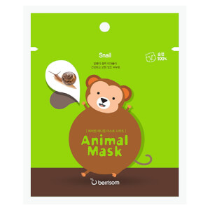 Berrisom Animal Mask Series -kasvonaamio, apina 25ml