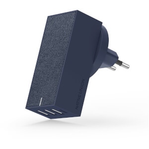 Native Union Smart 4 Port Charge USB Fabric Charger - Slate