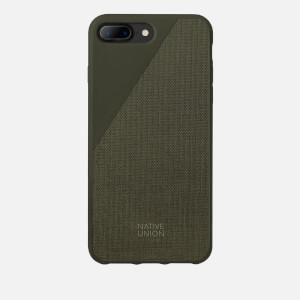 Native Union Clic Canvas - iPhone 7 Plus/8 Plus Case - Olive