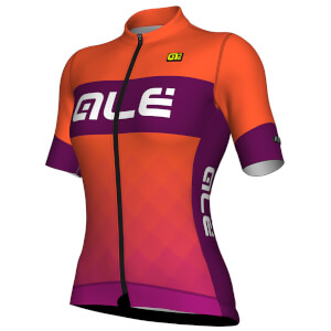 Alé Women's R-EV1 Rumbles Jersey - Orange