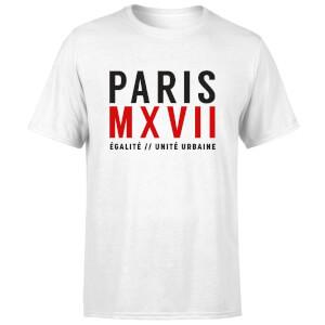 Paris Unite Urbaine T-Shirt - White