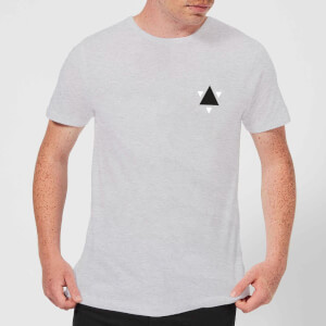 T-Shirt Homme Triangle - Gris