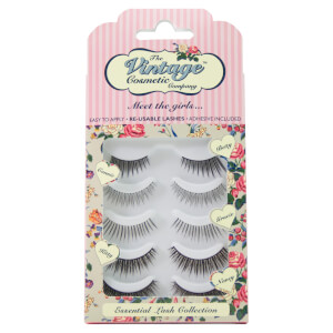 Набор накладных ресниц The Vintage Cosmetic Company Essential Lash Collection