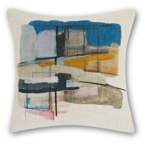 Tom Dixon Paint Cushion - Multi - 45 x 45cm