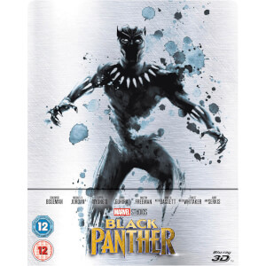 Black Panther 3D Zavvi UK Exclusive Limited Edition Steelbook (Includes 2D Version)