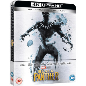 Black Panther 4K Ultra HD (Incl. 2D Version) - Zavvi UK Exclusive Limited Edition Steelbook