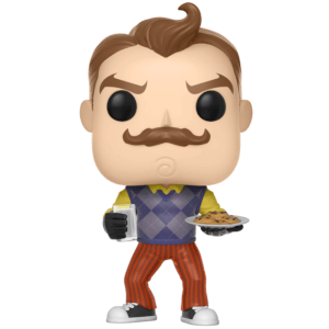 Figurine Pop! EXC Neighbor avec Lait et Cookies - Hello Neighbor